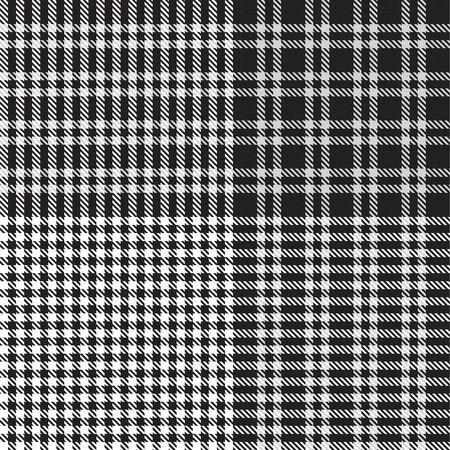 len Plaid textured seamless pattern suitable for fashion textiles and graphics Ilustração
