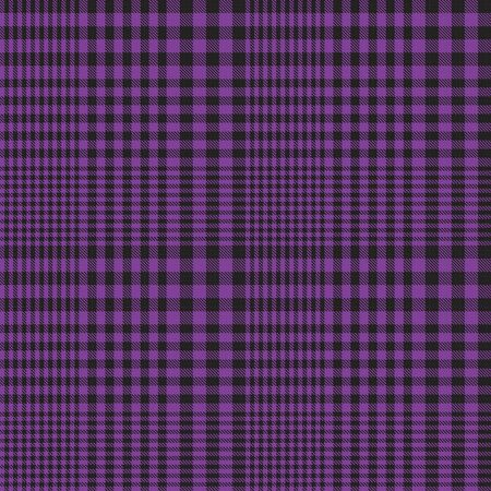 Purple Glen Plaid textured seamless pattern suitable for fashion textiles and graphics