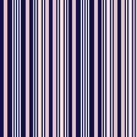 Pink and Navy vertical striped seamless pattern background suitable for fashion textiles, graphics