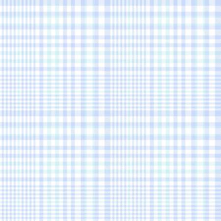 Sky Blue Glen Plaid textured seamless pattern suitable for fashion textiles and graphics Vektorgrafik