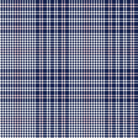 Pink Navy Glen Plaid textured seamless pattern suitable for fashion textiles and graphics