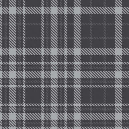 Grey Glen Plaid textured seamless pattern suitable for fashion textiles and graphics