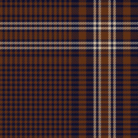 Brown Glen Plaid textured seamless pattern suitable for fashion textiles and graphics 向量圖像