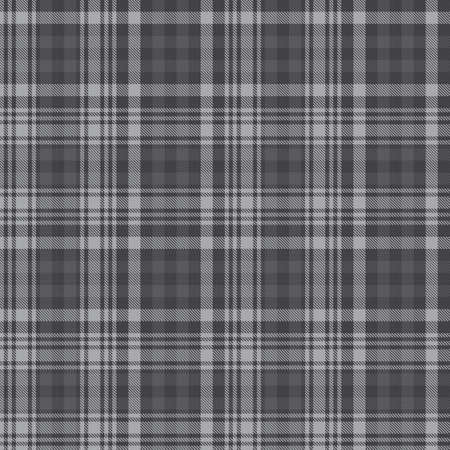 Grey Glen Plaid textured seamless pattern suitable for fashion textiles and graphics 向量圖像
