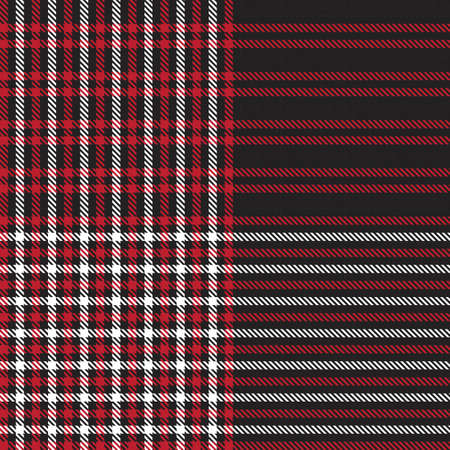 Red Glen Plaid textured seamless pattern suitable for fashion textiles and graphics