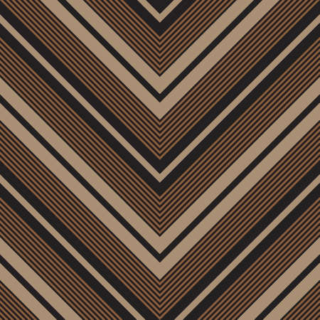 Brown Taupe Chevron diagonal striped seamless pattern background