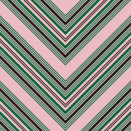 Pink Chevron diagonal striped seamless pattern background 向量圖像