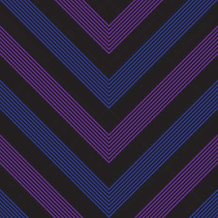 Purple and Blue Chevron diagonal striped seamless pattern background