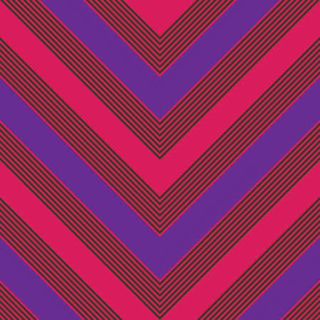Purple and pink chevron diagonal striped seamless pattern background 向量圖像