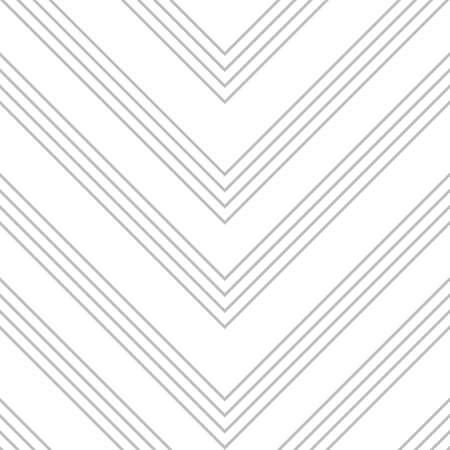 White and Grey Chevron diagonal striped seamless pattern background