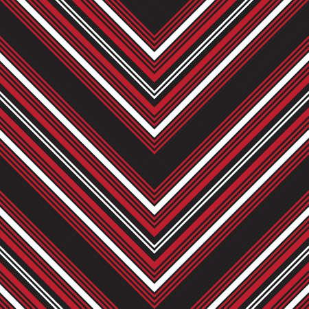 Red Chevron diagonal striped seamless pattern background