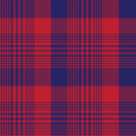 Red Navy Glen Plaid textured seamless pattern suitable for fashion textiles and graphics