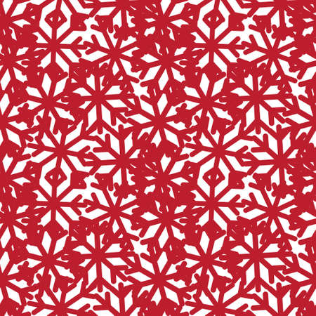 Christmas Red Holiday seamless pattern background for website graphics, fashion textiles