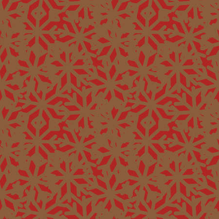 Christmas Orange Holiday seamless pattern background for website graphics, fashion textiles Ilustracja