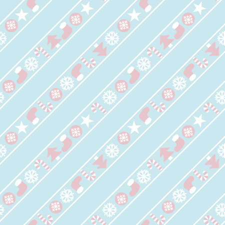 Christmas Icy Blue Holiday seamless pattern background for website graphics, fashion textiles