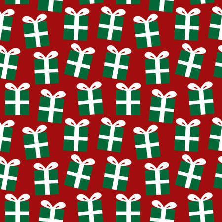 Christmas Holiday seamless pattern background for website graphics, fashion textiles Ilustracja
