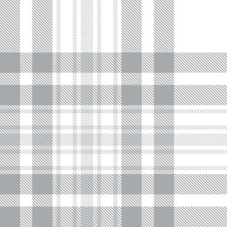 White Glen Plaid textured seamless pattern suitable for fashion textiles and graphics Banque d'images - 152644517