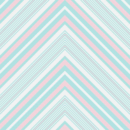 Sky blue Chevron diagonal striped seamless pattern background suitable for fashion textiles, graphics