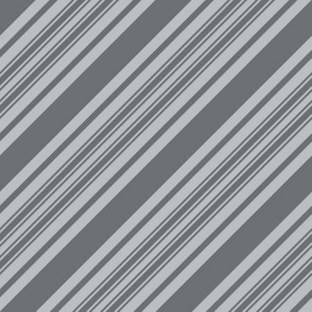 Grey diagonal striped seamless pattern background suitable for fashion textiles, graphics