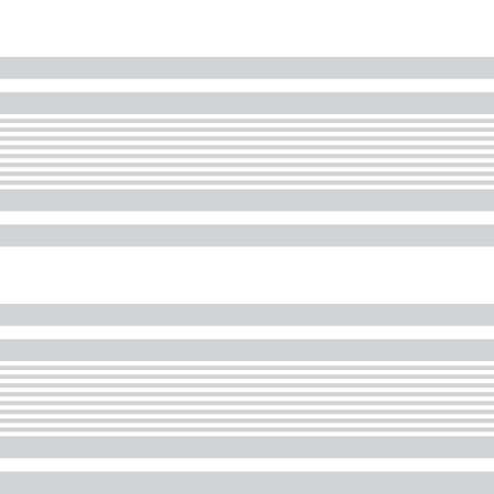 White horizontal striped seamless pattern background suitable for fashion textiles, graphics Vectores