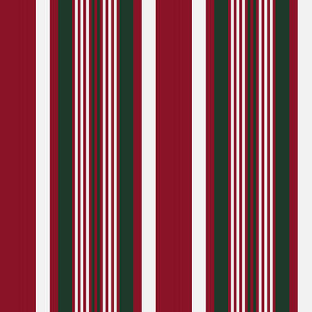 Christmas vertical striped seamless pattern background suitable for fashion textiles, graphics Vectores