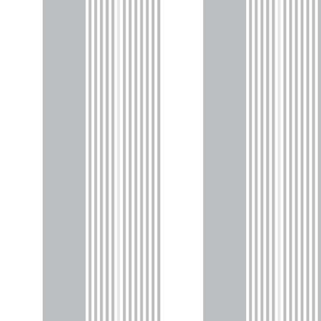 White vertical striped seamless pattern background suitable for fashion textiles, graphics Vectores