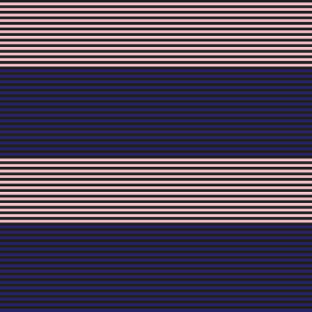 Pink and Navy Horizontal striped seamless pattern background suitable for fashion textiles, graphics