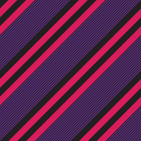 Purple diagonal striped seamless pattern background suitable for fashion textiles, graphics Иллюстрация