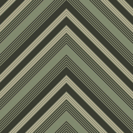 Green Chevron diagonal striped seamless pattern background suitable for fashion textiles, graphics 矢量图像