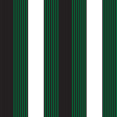 Green vertical striped seamless pattern background suitable for fashion textiles, graphics