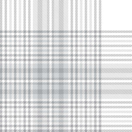 White Glen Plaid textured seamless pattern suitable for fashion textiles and graphics 일러스트