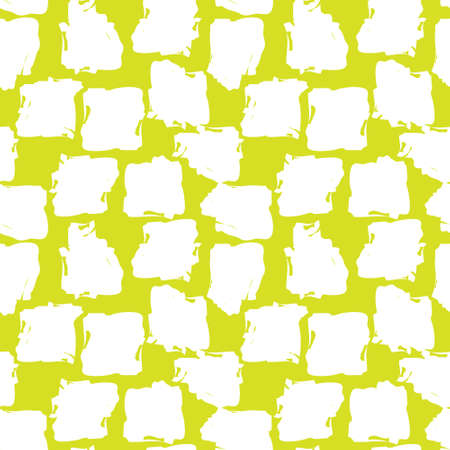 Yellow Brush Stroke Camouflage abstract seamless pattern background suitable for fashion textiles, graphics Ilustração