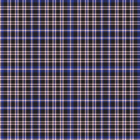 Pink and navy Plaid, checkered, tartan seamless pattern suitable for fashion textiles and graphics Vector Illustration