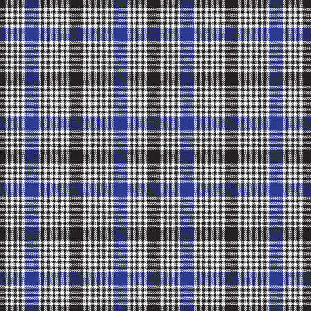 Blue Plaid, checkered, tartan seamless pattern suitable for fashion textiles and graphics