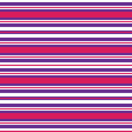 Purple Horizontal striped seamless pattern background suitable for fashion textiles, graphics Иллюстрация