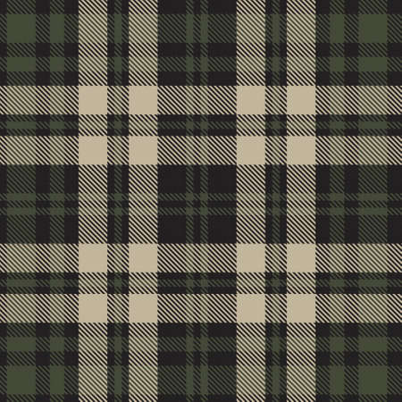 Green Plaid, checkered, tartan seamless pattern suitable for fashion textiles and graphics Vektorové ilustrace