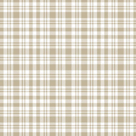 Brown taupe Plaid, tartan seamless pattern suitable for fashion textiles and graphics Stock Photo