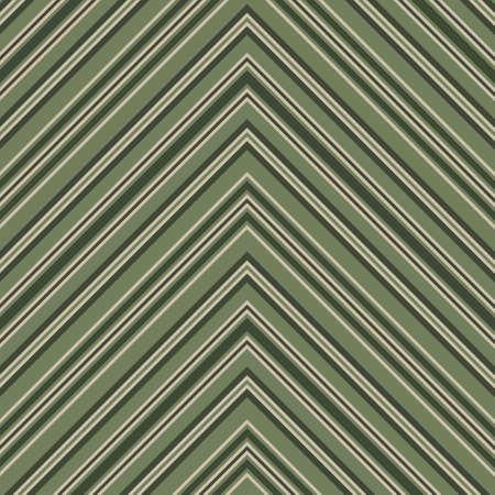Green Chevron diagonal striped seamless pattern background suitable for fashion textiles, graphics