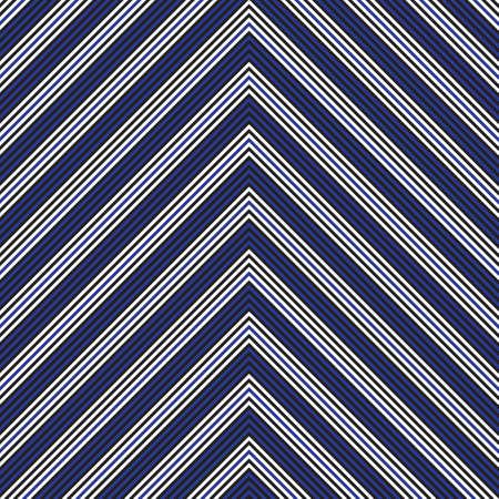 Blue Chevron diagonal striped seamless pattern background suitable for fashion textiles, graphics