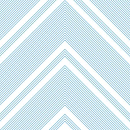 Sky blue Chevron diagonal striped seamless pattern background suitable for fashion textiles, graphics Vektorové ilustrace