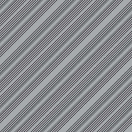 Grey diagonal striped seamless pattern background suitable for fashion textiles, graphics Vektorové ilustrace