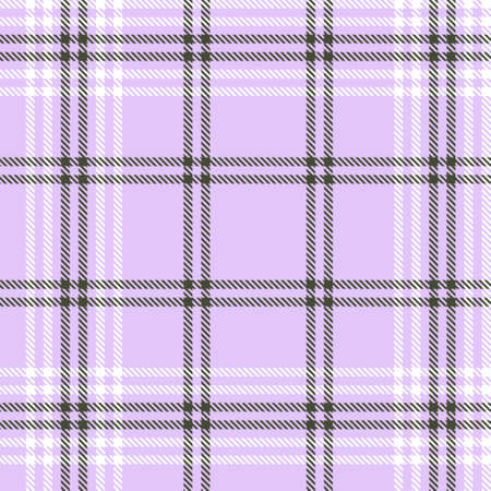 Purple Glen Plaid textured seamless pattern suitable for fashion textiles and graphics Иллюстрация
