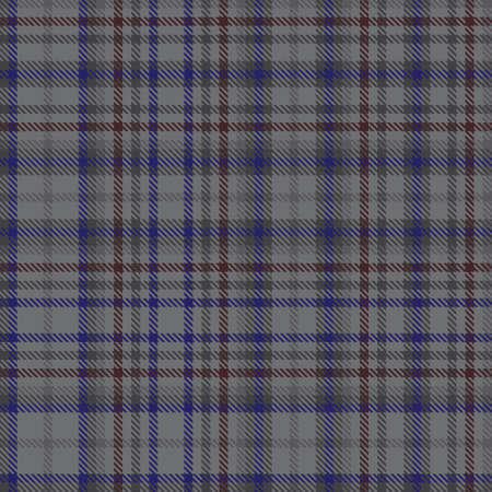 Grey Glen Plaid textured seamless pattern suitable for fashion textiles and graphics  イラスト・ベクター素材