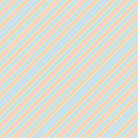 Rainbow diagonal striped seamless pattern background suitable for fashion textiles, graphics 向量圖像