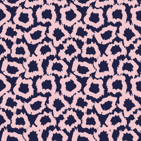 Pink Navy Brush strokes pattern background suitable for fashion prints, graphics, backgrounds
