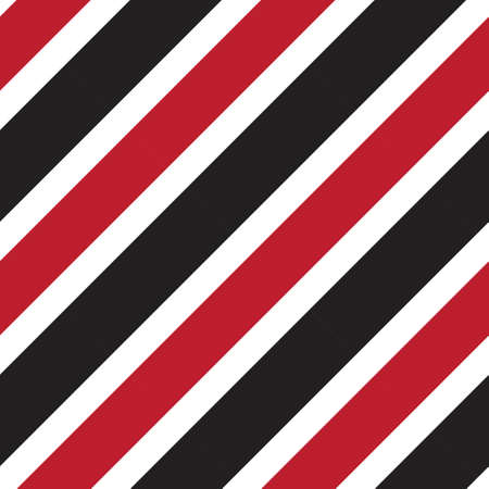 Red diagonal striped seamless pattern background suitable for fashion textiles, graphics