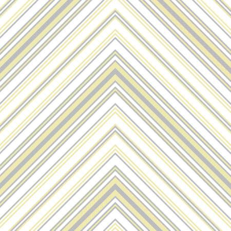 Yellow Chevron diagonal striped seamless pattern background suitable for fashion textiles, graphics Standard-Bild - 157129852
