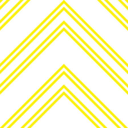 Yellow Chevron diagonal striped seamless pattern background suitable for fashion textiles, graphics Standard-Bild - 157129907