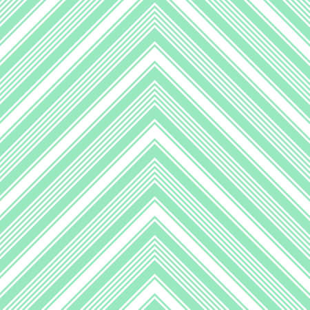 Green Chevron diagonal striped seamless pattern background suitable for fashion textiles, graphics Standard-Bild - 157130125