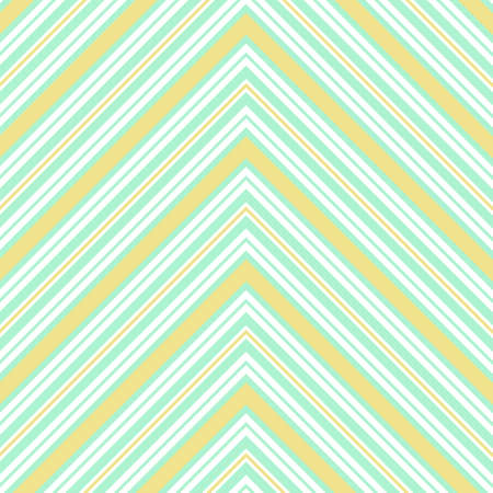 Green Chevron diagonal striped seamless pattern background suitable for fashion textiles, graphics Standard-Bild - 157133837